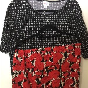 LulaRoe Irma and Cassie outfit